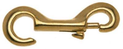 Apex Tools Group T7625204 Bronze Open Rigid Eye Bolt Snap, 3/8-In. - Quantity 10