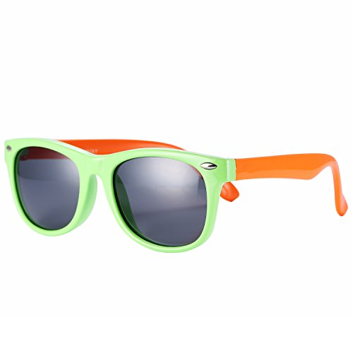 Orange Sunglasses Bulk - Pro Acme TPEE Rubber Flexible Kids