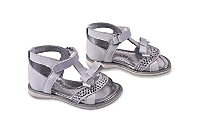 Amici Shoes White Flat Sandal For Girls