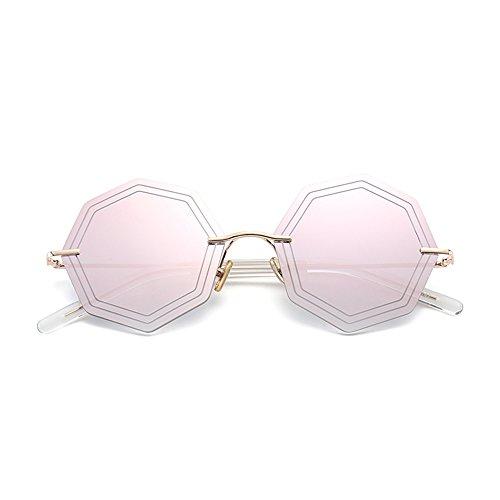 conducción de Gafas aire moda viajes de polarizadas de irregular sol definición ZHIRONG libre playa alta D de al Color de polígono de espejo C gafas 1qCxOTwdT