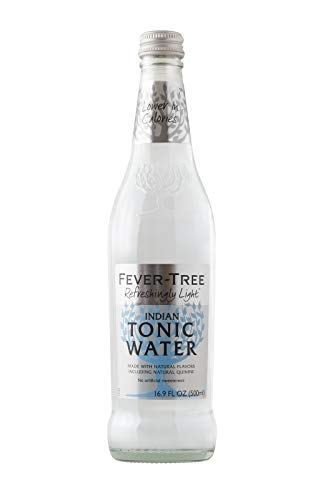- Fever-Tree Refreshingly Light Tonic Water, 16.9 Fl Oz Glass Bottle (8 Count)