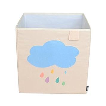 Toy Storage Box Bin Organizer Collapsible Cloud- 100% Money Back Guarantee  sc 1 st  Amazon.com & Amazon.com : Toy Storage Box Bin Organizer Collapsible Cloud- 100 ...