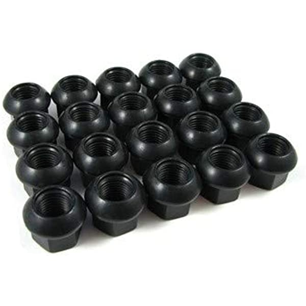 20pcs 1.87 Chrome 14mm X 1.50 Wheel Lug Nuts fit 2009 Cadillac Escalade May Fit OEM Rims Buyer Needs to Review The spec