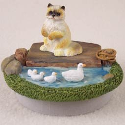 Conversation Concepts Miniature Ragdoll Candle Topper Tiny One ''A Day on the Lake'' (Set of 6)