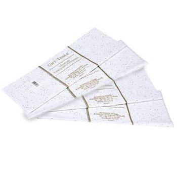 Sparkle Foil - Gift Wrap Bag Tissue Paper White Foil Sequin Sparkle 40 Sheets 20 x 20 Inches