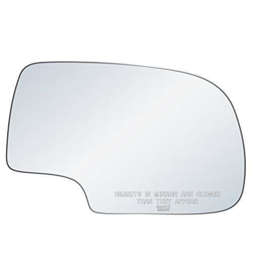 exactafit 8720PR Replacement Lens Power Side Mirror Convex Glass fits Passenger's Right Hand RH for Chevy GMC GM Silverado Tahoe Sierra Yukon 1500 2500 3500 HD 1999-2007 by Rugged TUFF