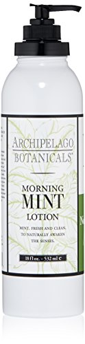 Body Milk Cream (Archipelago Morning Mint Body Lotion ,18 Fl Oz)