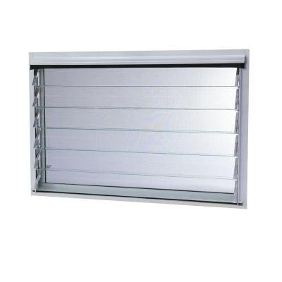 Jalousie Utility Louver Aluminum Window by TAFCO WINDOWS