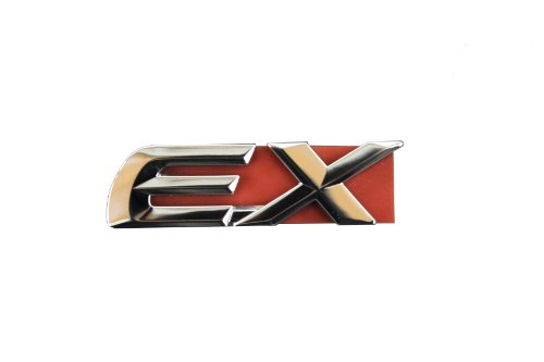 03 honda accord trunk emblem - 1