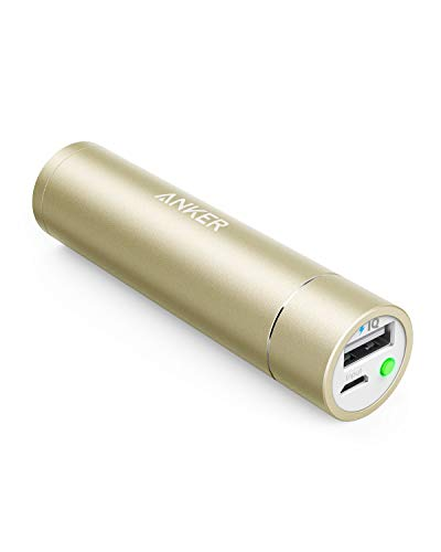 Anker PowerCore+ mini 3350mAh Lipstick-Sized Portable Charger (3rd Generation, Premium Aluminum Power Bank) One of the Most Compact External Batteries ()