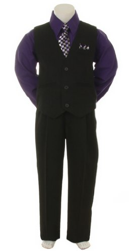 Stylish Outfit Set Baby 7 Black Purple