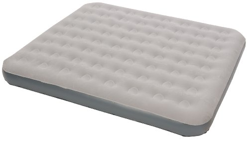 Stansport King Deluxe Air Bed, Gray (78- X76- X5- Inch), Outdoor Stuffs