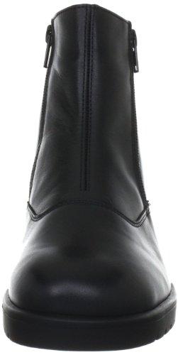 Ganter Ellen-stiefel, Weite G, Stivali senza chiusura Donna Nero (Schwarz (Schwarz 0100))