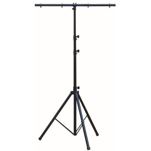 Showtec Stahl Stativ, schwarz 3,7m, inkl. T-Bar