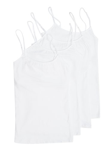 4 Pack Active Basic Women's Basic Tank Tops,white,medium