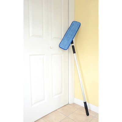Commercial Grade Surface - Commercial Grade Microfiber Floor / Dust Mop with a Washable Pad. Works Well on All Surfaces. Telescoping Handle Adjusts to Your Height.