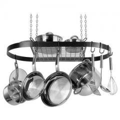 Range Kleen Black Oval Pot Rack (cw6000) -
