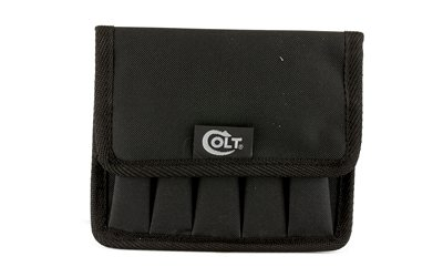 Deluxe 5-10 Molle pistol mag pouch with Colt logo in black
