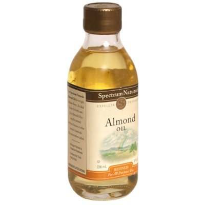 Spectrum Naturals Sweet Refined Almond Oil 8 Oz (Pack of 3) - Pack Of 3