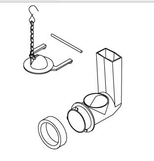 Kohler K1078578 Flush Valve Assembly Kit