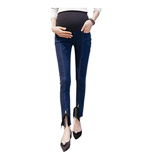 Pants Hzjundasi Women Stretchy Leggings 19 Maternity The Bump Soft Over Jeans Waistband Style UUSqrHI