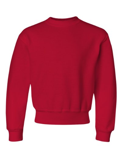 Jerzees Crew Neck Sweatshirt (562B) True Red, S