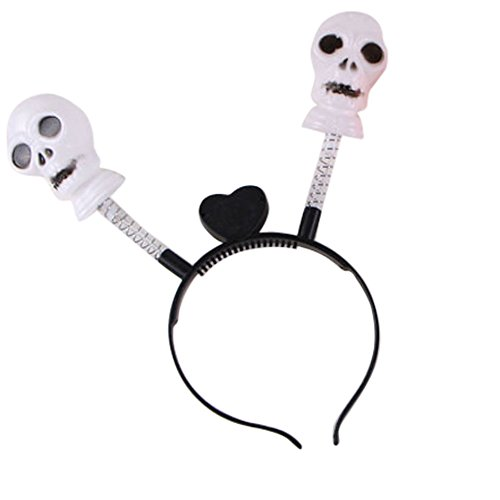 Halloween LED Pumpkin Skull Light Party Props Headbands Dress up Accessories -