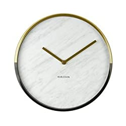 Present Time Karlsson Modern Wall Clock - Unique & Contemporary Wall Clock