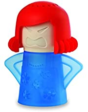 Angry Mama Microwave Cleaner - Red Hair - Blue Base - As Seen on TV - Angry Mama Microwave