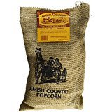 Amish Country Popcorn - Medium Yellow Popcorn - Old Fashioned, Non GMO, and Gluten Free - with Recipe Guide and 1 Year Freshness Warranty (2 Lb Burlap) ()