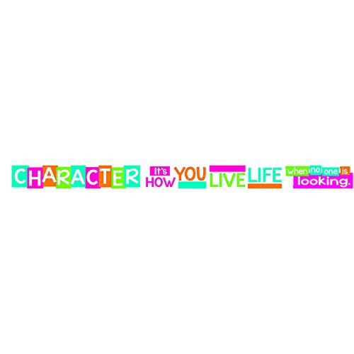 (Argus Trend Enterprises, Inc. T-A25202 Character It's How You Live Banner, 10')