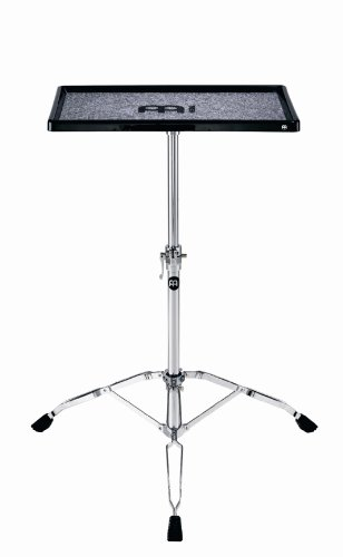 Meinl Percussion Table - Meinl Percussion TMPTS Double Braced Tripod Percussion Table with Fabric Anti-Slip Surface