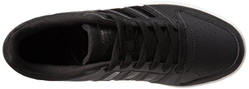 adidas Vs Hoopster W, Scarpe da Ginnastica Donna, Nero (Negbas/Negbas/Ftwbla), 36 EU