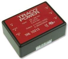 TRACOPOWER - TML 10215 - AC-DC CONV, PCB MOUNT, 2 O/P, 10W, 15V, -15V