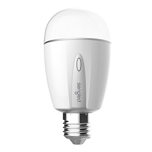 Sengled Element Touch A19 Smart Light Bulb Dimmable, 60W Equivalent 2700k-3500k White, Energy Saving, Hub Required, 3 Year Warranty, Works with Alexa