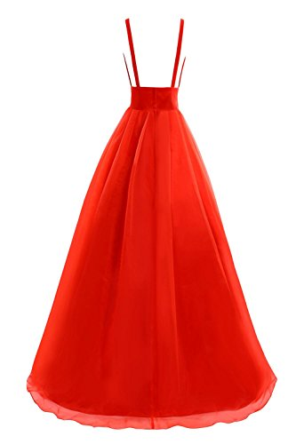 Bridal Dress Tulle Women's Evening Bess Deep Neck Prom Blue Gowns V Formal Sky dqHS0B
