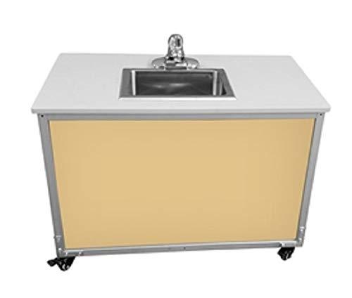 Monsam PSE-2006I Maple Preschool and Childcare Single Basin Portable Sink, 27