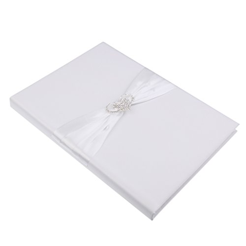 (MonkeyJack Wedding Photos Marriage Certificate Document Holder Cover HeartRhinestone)