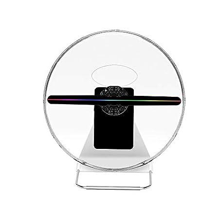 YAMEIJIA 30 cm Publicidad en 3D Ventilador de Holograma ...