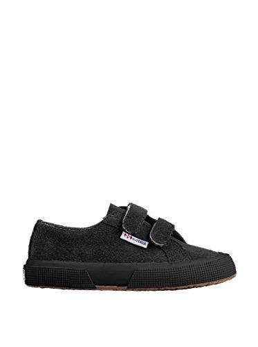 Superga 2750-SUEVJ S0038L0 - Zapatos bajos de cuero para Black