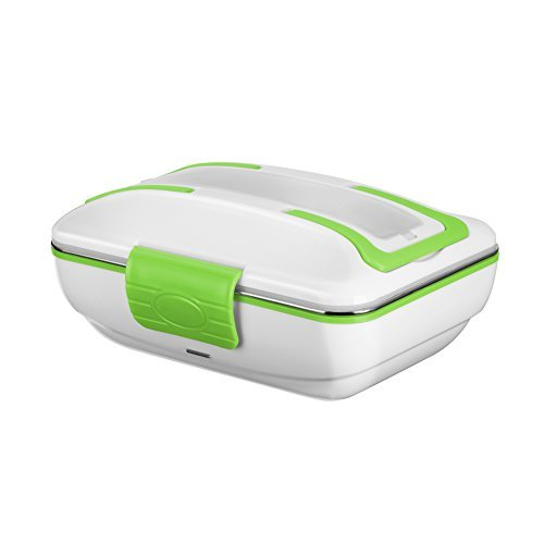 YOHOOLYO Electric Lunch Box Food Heater Portable with Removable Stainless Steel Container Food Grade Material