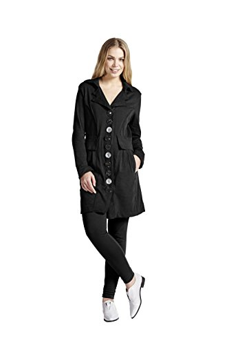 Neon Buddha Women's Absolute Jacket, Market Black, Small