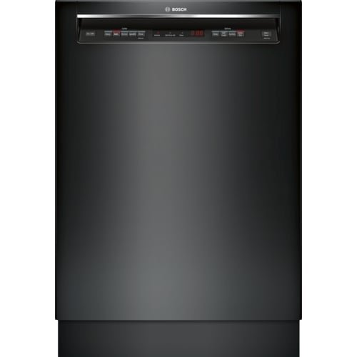 Bosch SHEM63W5 24 Inch Wide 16 Place Setting Energy Star Built-In Full Console D, Black by Bosch