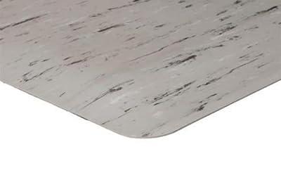3' x 7'.8 1/2'' Thick Marbleized Surface Anti Fatigue Matting Industrial Mats AMZ 378