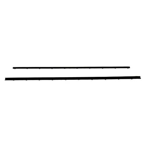 (Tailgate Tail Gate Window Sweep Weatherstrip Seal Set Kit for 78-96 Ford Bronco)