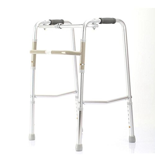 CW&T WW Elderly Walker Aluminum Alloy Height Adjustable Collapsible Rehabilitation Equipment Medical Walker