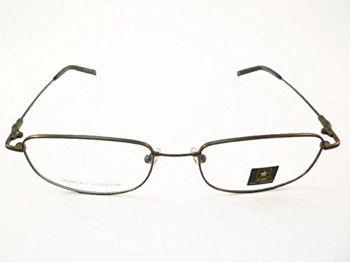 US Army Eyeglasses Army Strong #3 Mens Gunmetal Memory Titanium ...