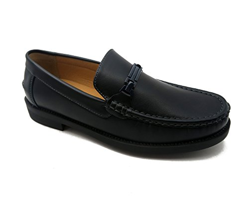 Andrew Fezza Af-2001 Fbm Ira Herenmode Loafer Driver Schoenen Marine
