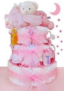 Sleepy Bear 3 Tier Diaper Cake...