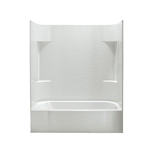 STERLING 71140128-0 Accord AFD Bath Tub and Shower Kit, 60-Inch x 30-Inch x 74.25-Inch, - Bathtub Afd